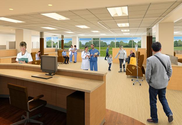 hospital building design