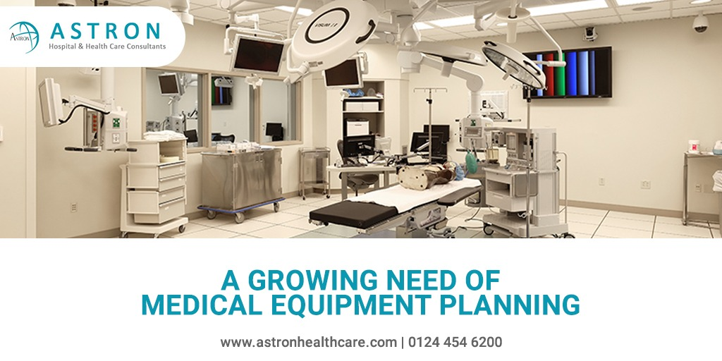 A Growing Need of Medical Equipment Planning