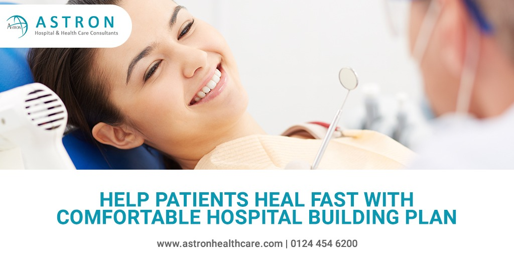 Help Patients Heal Fast With Comfortable Hospital Building Plan